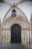 Entrance to Cambridge college — Stock Photo