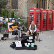 Постер, плакат: Street performers in Cambridge
