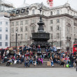 Eros Statue, Piccadilly Circus, London — Foto de Stock