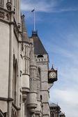 An Old English Street Clock — Stock Photo