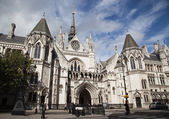 The Royal Courts of Justice in London — Foto de Stock