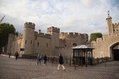 The Tower of London, the UK. The historic Royal Palace — Stock Photo