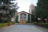 Church in Cupertino california at a sunny day. — Stockfoto