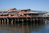 Fishermans Wharf, San Francisco — Stock Photo