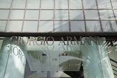 Giorgio Armani Store — Stock Photo