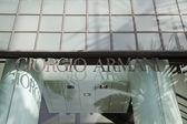 Giorgio Armani Store — Stock Photo
