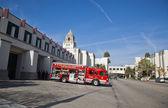 Fire department truck — Stock Photo
