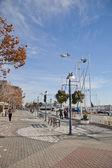 奥克兰港口-奥克兰,加利福尼亚州美国 — 图库照片
