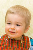 Sad little boy — Stock Photo