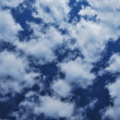 Blue sky with clouds - Photo