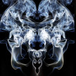 Stock Photo: Smoke mirrored