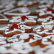 Many cookies decorated - Stock Photo