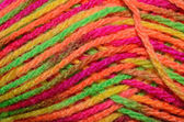 Colored wool — Stock Photo