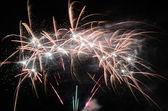 Big fireworks — Stock Photo