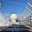 Top deck on a cruise ship — Stock Photo #39404503