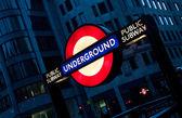 London Metro Undergorund Tube Sign — Stock Photo