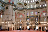 Suleymanye Mosque interior — Stock Photo