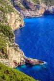 Zakynthos coastline — Stock Photo