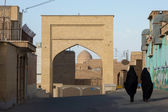 street of Kashan city in Iran — Stock Photo