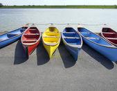 Canoes — Stock Photo