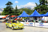 Ukraine. Rally Prime Yalta Rally 2012 — Stock Photo