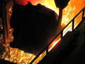Metallurgical production. — Stock Photo