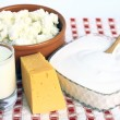 Stockfoto: Dairy products.
