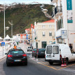 Nazare, a resort town on Atlantic coast, May 7, 2013 , Portugal. — Stock Photo