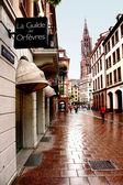 Calle en estrasburgo. — Foto de Stock