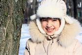 Portrait of cheerful girl. — Stock Photo