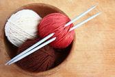Knitting — Stock fotografie