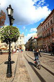 Lviv, ukraine. — Stockfoto