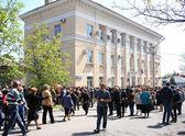 Referendum in Ukraine. — Stock Photo