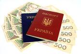 Ukrainian money. — Stock Photo