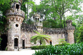 Portal of guardians  in  Quinta da Regaleira — Stock Photo