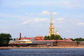 Fortress in Saint - Petersburg — Photo