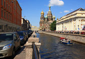 Cathedral in St. Petersburg. — Stock Photo