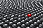 Stand out of the crowd — Stock Photo