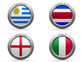 Brazil world cup 2014 group D — Stock Photo