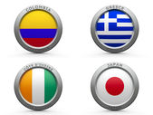 Brazil world cup 2014 group C — Stock Photo