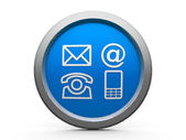 Contacts icon — Stock Photo