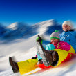 Foto Stock: Winter fun