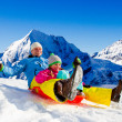 Winter fun - Stockfoto