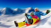Divertimento invernale — Foto Stock