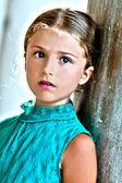 Lovely girl in Venice — Stock Photo