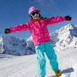 Ski, snow, sun and winter fun — Stock Photo #13752790