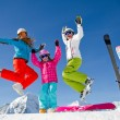 Ski, snow, sun and winter fun — Stock Photo #13752818