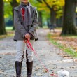 Autumn walk — Stock Photo #13752904