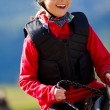 horse riding — Stock Photo