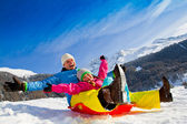 Winter fun — Fotografia Stock